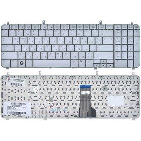 Клавиатура для HP HDX X16-1000 серебристая