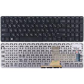 Клавиатура черная без рамки HP Pavilion 17-f057er