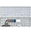 Клавиатура для HP Pavilion 15-e белая с белой рамкой
