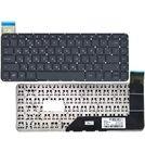Клавиатура черная для HP SlateBook 14-p000