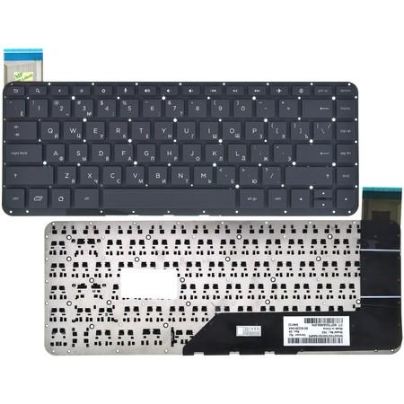Клавиатура черная HP SlateBook 14-p000