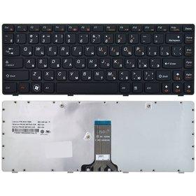 V-116920ES1 Клавиатура черная с черной рамкой