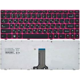 MP-10A13SU-6863 Клавиатура черная с красной рамкой