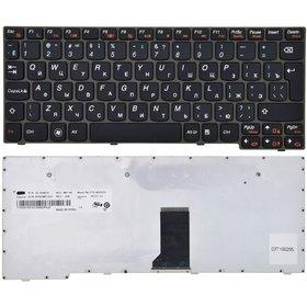 Клавиатура черная с черной рамкой Lenovo IdeaPad S100