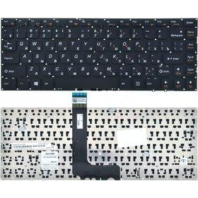 Клавиатура для Lenovo IdeaPad U300e черная без рамки