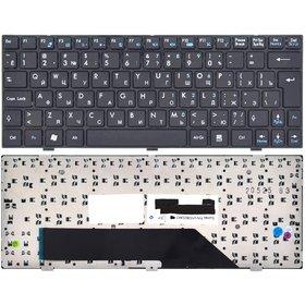 Клавиатура для MSI Wind U160 (MS-N051) черная с черной рамкой