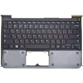 Клавиатура для Samsung NP900X1B черная (Топкейс черный)