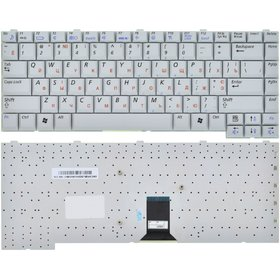 Клавиатура для Samsung M50 серебристая