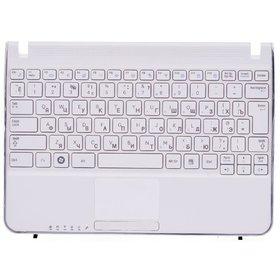 Клавиатура для Samsung N210 белая (Топкейс белый)