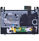 Клавиатура для Samsung N250 черная (Топкейс черный)
