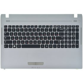 9Z.N5QSN.001 Клавиатура черная (Топкейс серебристый)