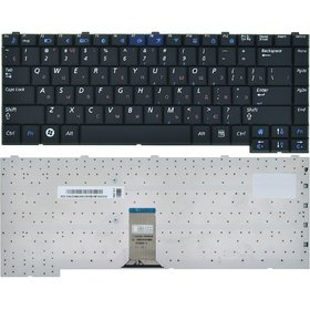 Клавиатура черная Samsung R60 (NP-R60FE0D/SER)