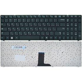 Клавиатура для Samsung R580 черная с черной рамкой