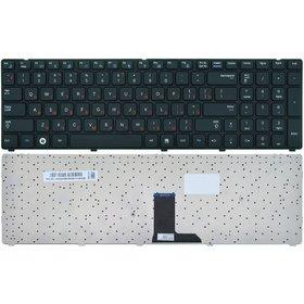 Клавиатура для Samsung R780 черная с черной рамкой