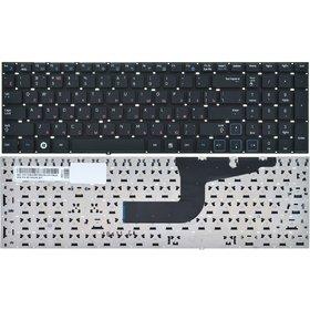 Клавиатура для Samsung RV711 черная без рамки