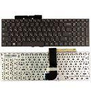 Клавиатура черная без рамки для Samsung QX510 (NP-QX510-S01)