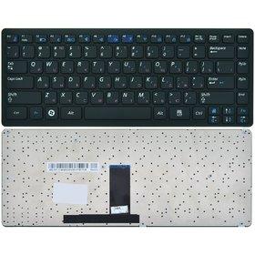 Клавиатура для Samsung X460 черная с черной рамкой
