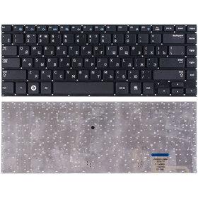 Клавиатура черная без рамки Samsung NP530U4B-S03