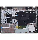 Клавиатура для Samsung QX310 черная (Топкейс серебристый)