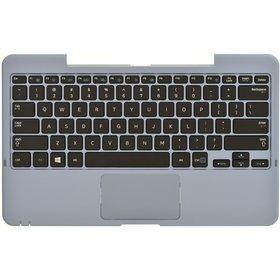 Клавиатура для Samsung XE500T1C черная (Топкейс голубой)