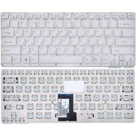 Клавиатура серебристая без рамки Sony VAIO VPCCA1S1E/W