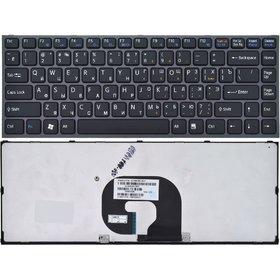 Клавиатура для Sony VAIO VPCY черная с черной рамкой