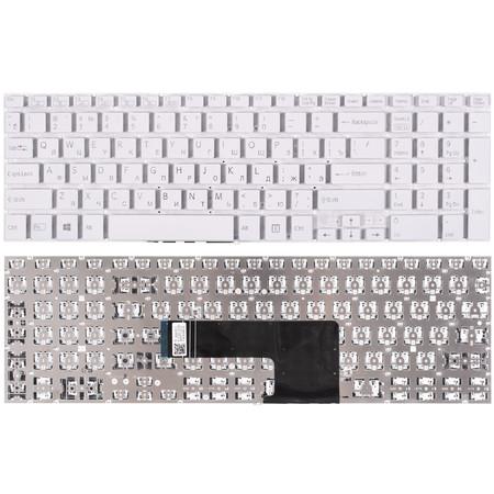 Клавиатура для Sony Vaio SVF152 белая без рамки