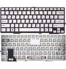 Клавиатура Sony VAIO SVS131 белая без рамки