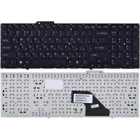 Клавиатура для Sony VAIO VPCF11 черная без рамки