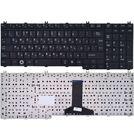 Клавиатура черная для Toshiba Satellite L350