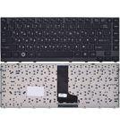 Клавиатура черная с черной текстурированной рамкой Toshiba Satellite M640