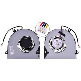 Кулер для ноутбука Asus X75 / KSB06105HB-CA56 4 Pin