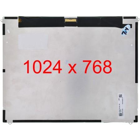 """Дисплей 9.7"""" / EDP 30 pin 1024x768 3mm / LTN097XL02-A01 / Apple Ipad 2"""