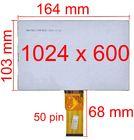 """Дисплей 7.0"""" / шлейф 50 pin 1024x600 (103х164мм) 3mm / TM070RDH19"""