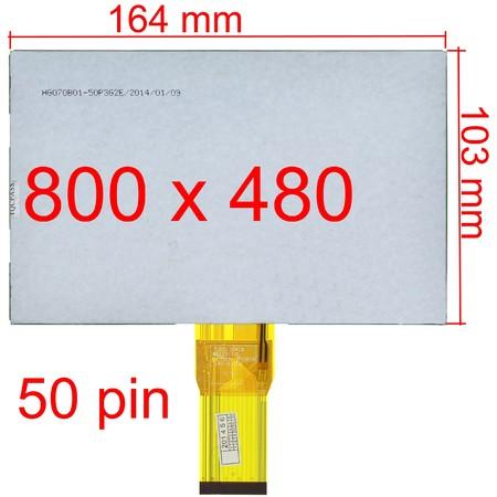 "Дисплей 7.0"" (103x164mm) 3mm CLV C701"