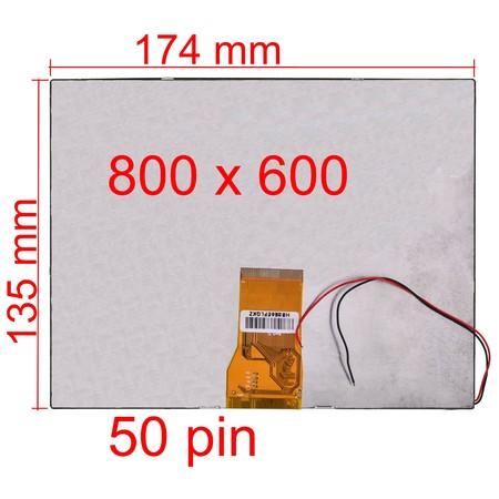 "Дисплей 8.0"" (135x174mm) 3mm PC-802"