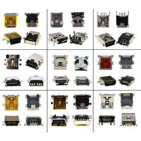 Набор разъемов mini USB (16 видов по 2 штук)