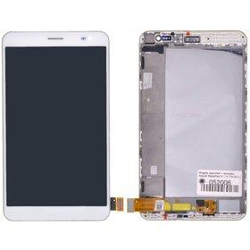 Модуль (дисплей + тачскрин) для Huawei MediaPad X1 7.0 (7D-501L) белый