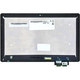 Модуль (дисплей + тачскрин) для Acer Iconia Tab W700 черный с рамкой