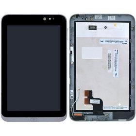 Модуль (дисплей + тачскрин) для Acer Iconia Tab W4-820 черный с рамкой