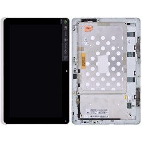 Модуль (дисплей + тачскрин) черный с рамкой Acer Iconia Tab W510