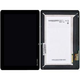 Модуль (дисплей + тачскрин) для Acer Iconia TAB A700 черный без рамки