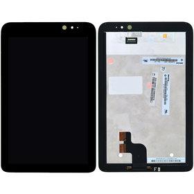 Модуль (дисплей + тачскрин) для Acer Iconia Tab W4-820 черный без рамки
