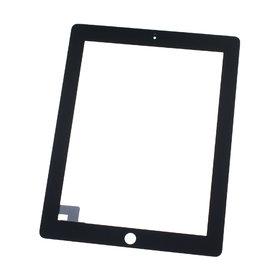 Тачскрин для Apple Ipad 2 черный (копия) c кнопкой HOME
