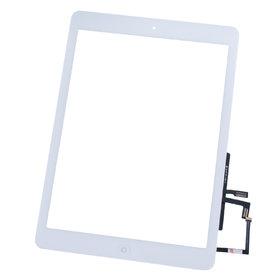 Тачскрин для Apple Ipad AIR белый (копия) c кнопкой HOME