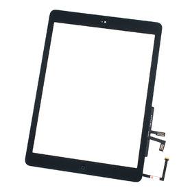 Тачскрин для Apple Ipad AIR черный (копия) c кнопкой HOME