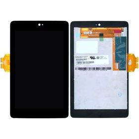 Модуль (дисплей + тачскрин) для ASUS Google Nexus 7 (ME370TG) черный 41.1700404.204 (Желтый шлейф)