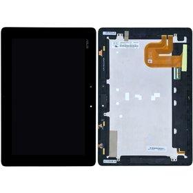 Модуль (дисплей + тачскрин) для ASUS Eee Pad Transformer Prime TF201 черный с рамкой HSD101PWW2 (TPC10C93 V1.0)