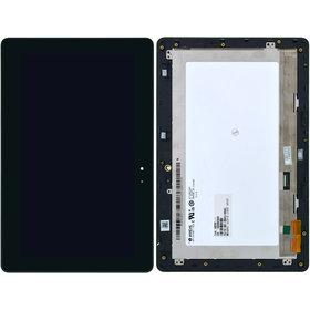 Модуль (дисплей + тачскрин) для ASUS VivoTab Smart ME400C (K0X) черный с рамкой 5268N FPC-1