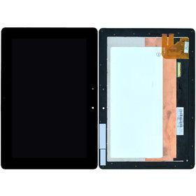 Модуль (дисплей + тачскрин) для ASUS Transformer Pad TF300T черный с рамкой 5158N FPC-1